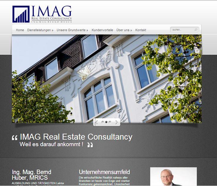 Webdesign erstellen für Immobilien Konsulent in Wien / Mödling